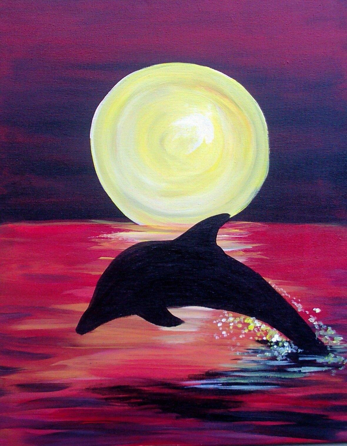 черте могилева рисунки гуашью дельфины стройная