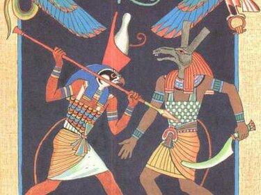 Египетские боги: Гор S375