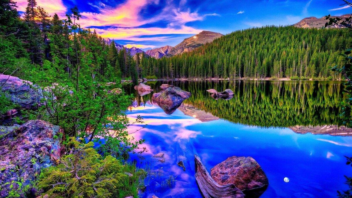 Красивый пейзаж в картинках