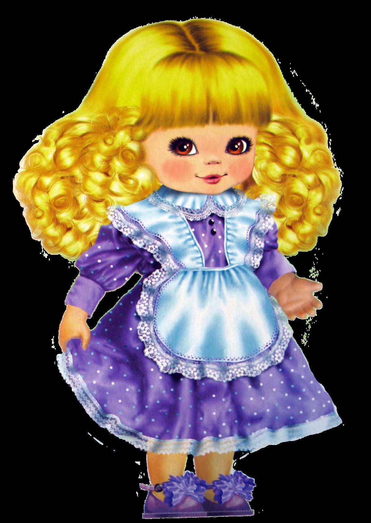 Красивые рисунки куклы
