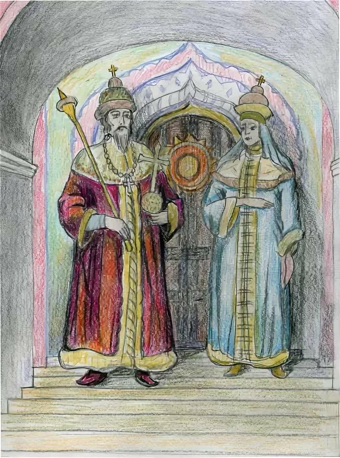Картинки царица и царь