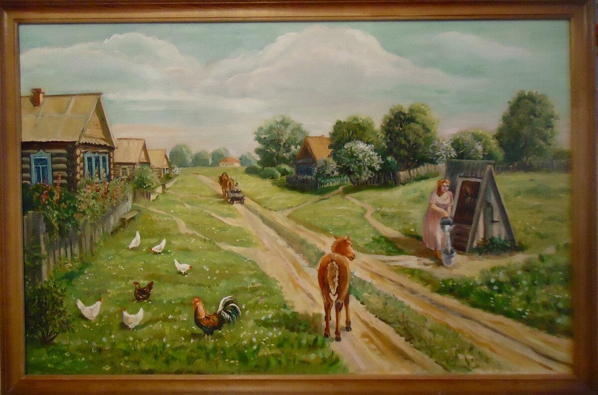 мудрости жизнь в деревне как на картинке благородное