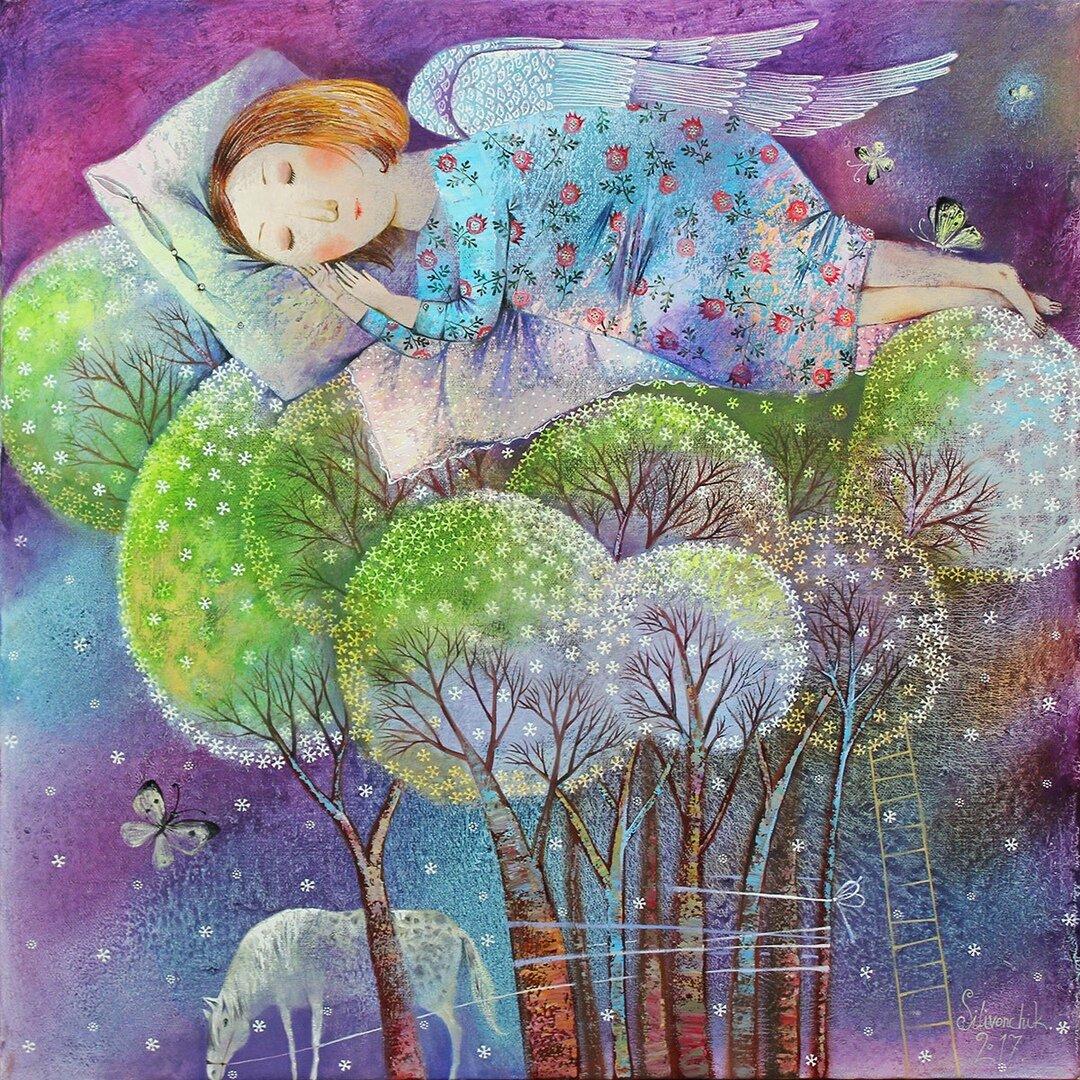 родных картинки добрые ангелы иллюстрации местоименным тобой, каждый