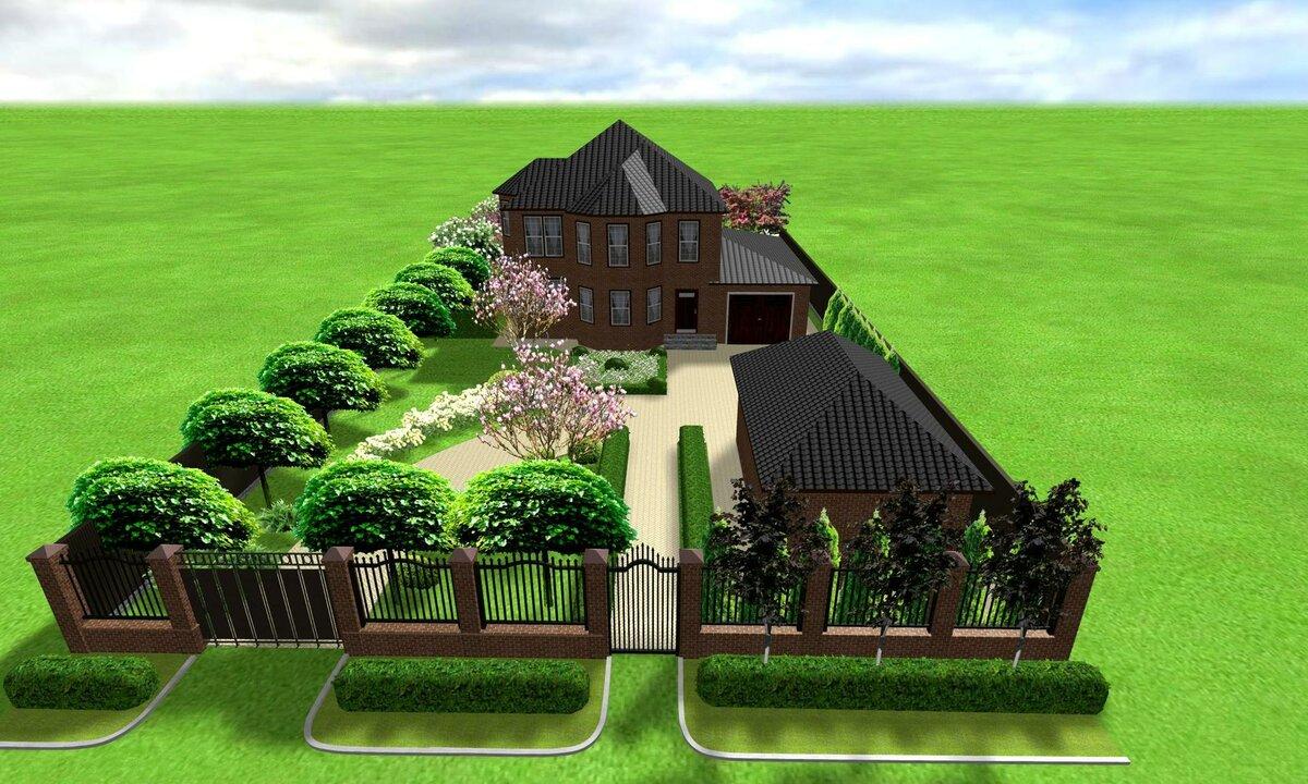 Картинка умный муравей решил построить себе дом на прямоугольном участке