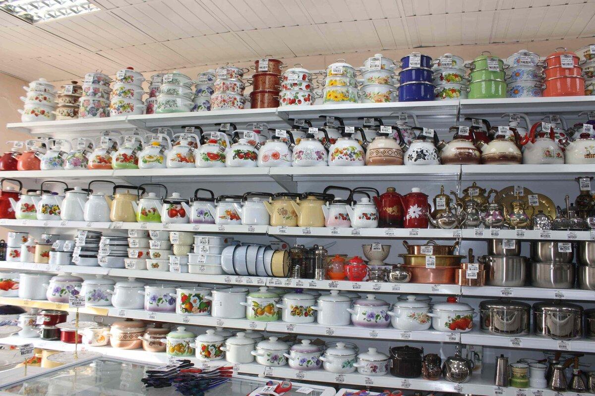 Большой ассортимент посуды в интернет магазине