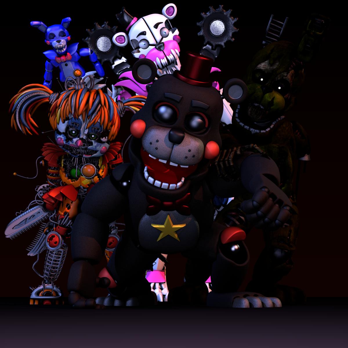 Картинки фнаф персонажей