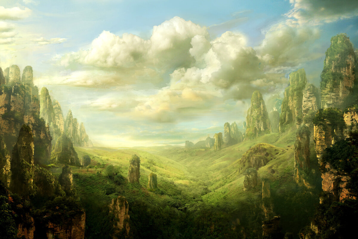 картинка древний мир природа