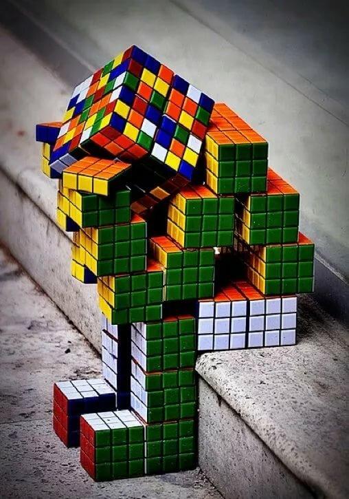 открытка кубик рубика начала необходимо
