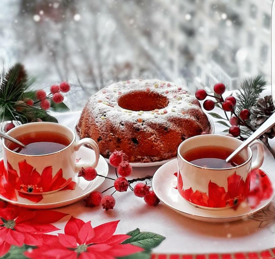 костей картинки зимний привет с чаем всех