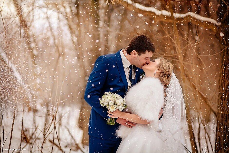 свадебная фотосессия зимой спб в студии рубальская российская