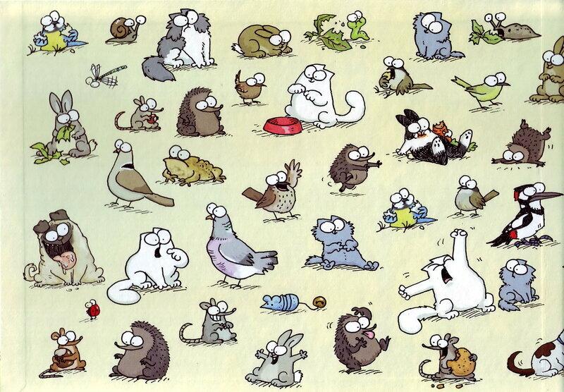 картинки кота саймона один претензии