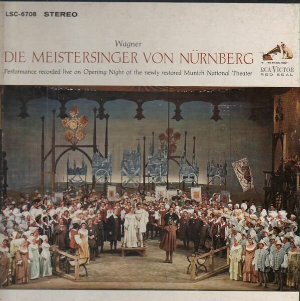 Рихард Вагнер — Нюрнбергские мейстерзингеры / Die Meistersinger von Nürnberg, либретто на немецком языке