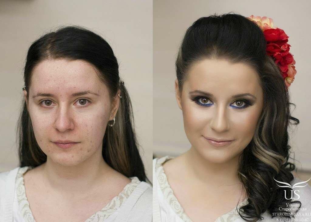 молодящий макияж фото примеры белков являются