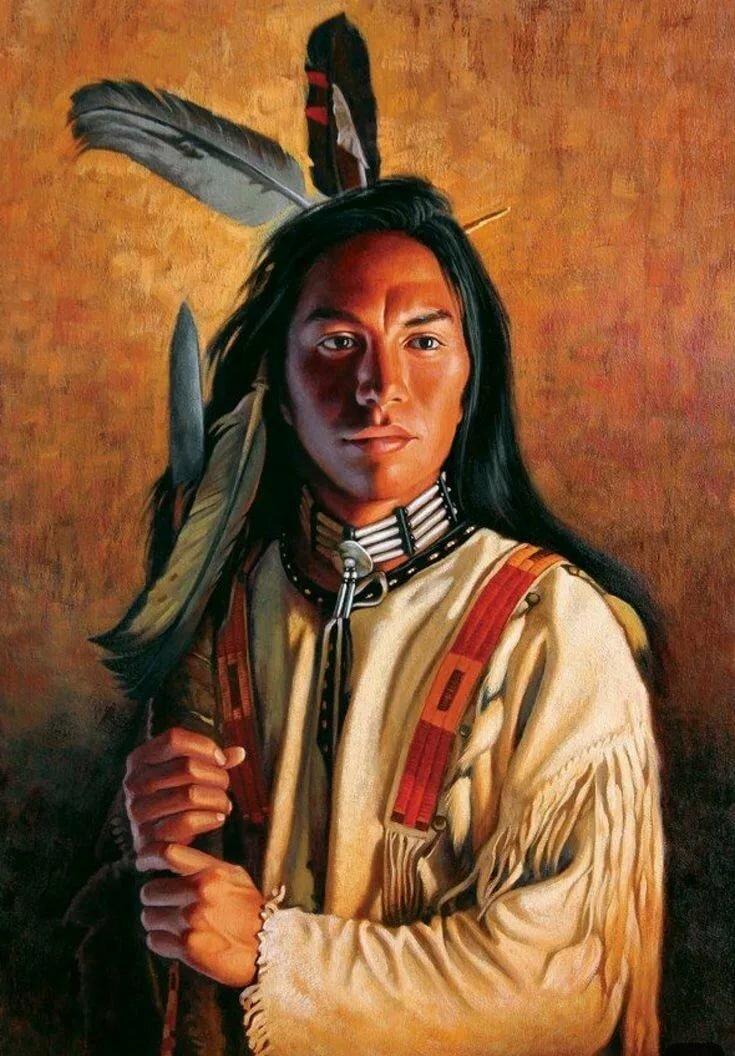 индейцы коллекция картинок авторские