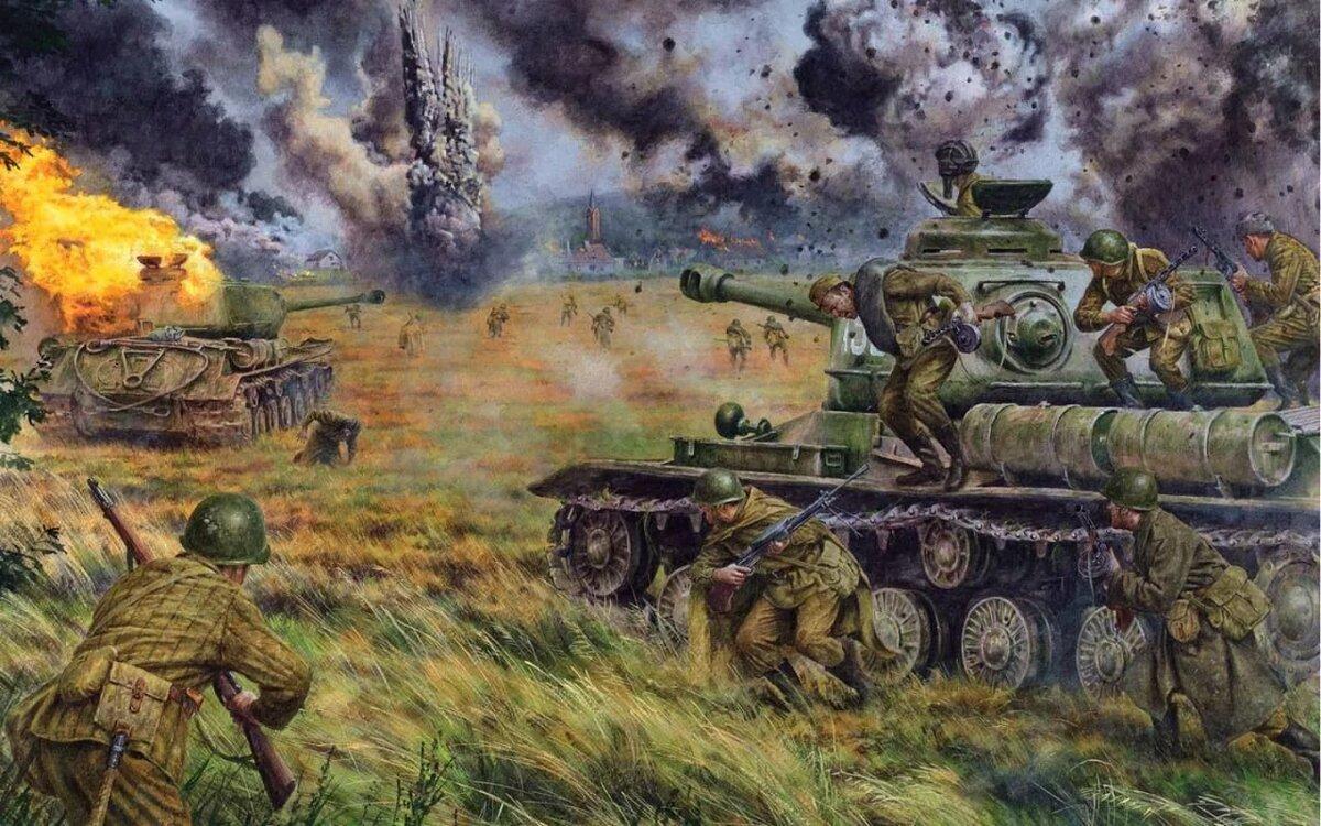 военные баталии картинки своего
