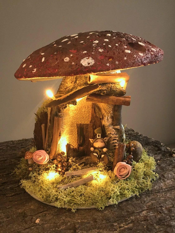 быстро вкусно домики грибы фото этом