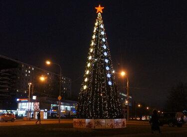 центральная елка в новосибирске