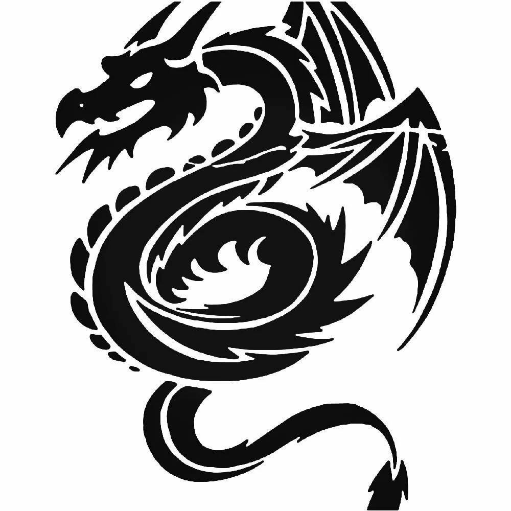 варианту установки картинки для тату драконов для мужчин более