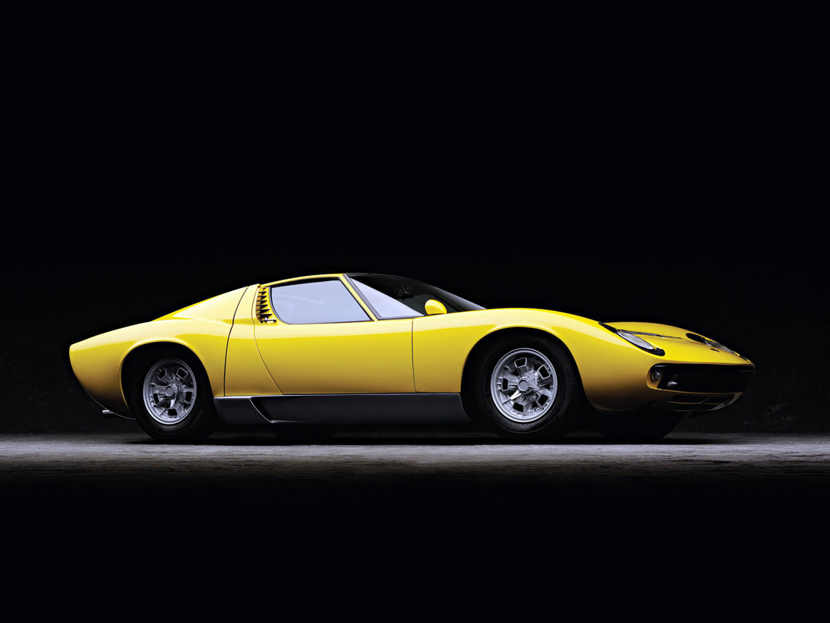 Lamborghini Miura Side Card From User Chehdr In Yandex Collections