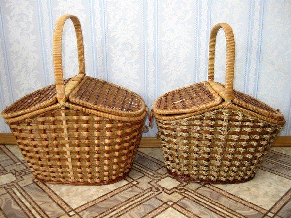 Плетение корзинки материал