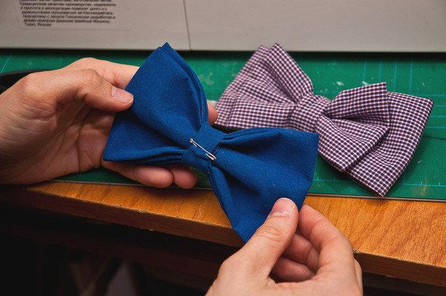 Как сшить галстук-бабочку: мастер-класс А. Корфиати 93