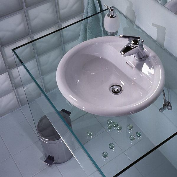 стеклянная раковина в ванную комнату фото цена 9010
