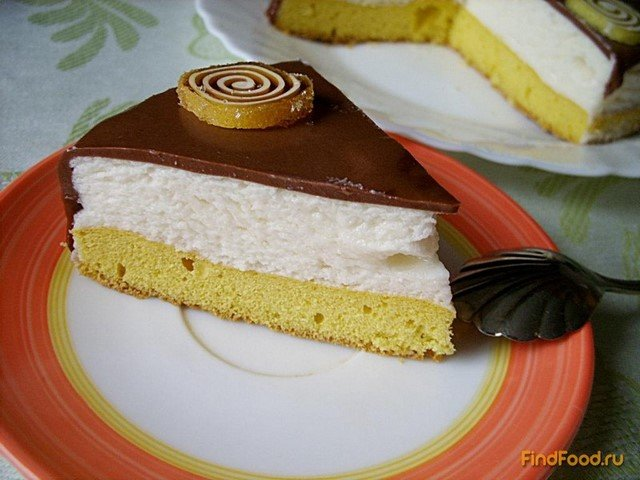 Рецепт птичье молоко торт со сгущенкой