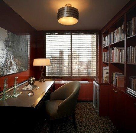 Дизайн домашнего кабинета обязательно станет весьма ответственным занятием для людей, совершающих большую часть своей работы прямо на дому.