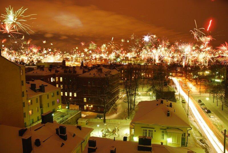 Новый Год в Хельсинки