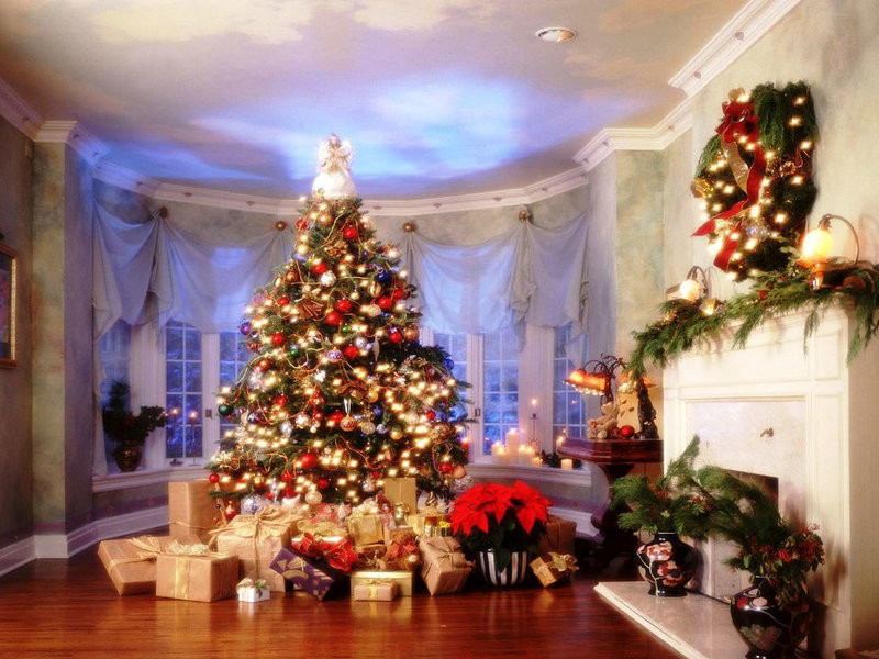 Подготовка к новому году или новогоднее настроение. аренда дома на новый год