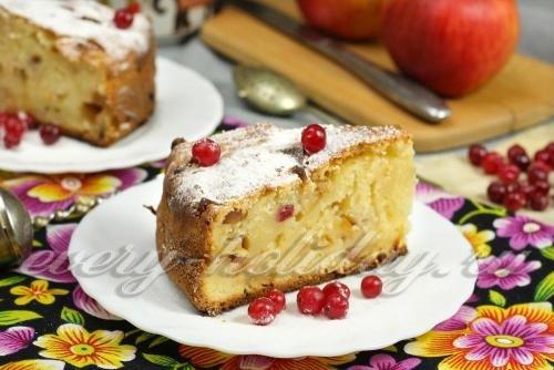 вкусный яблочный пирог рецепт с фото