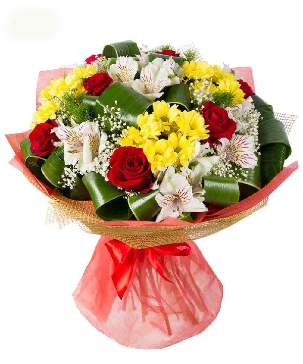 Букеты розы, подарки цветы доставка