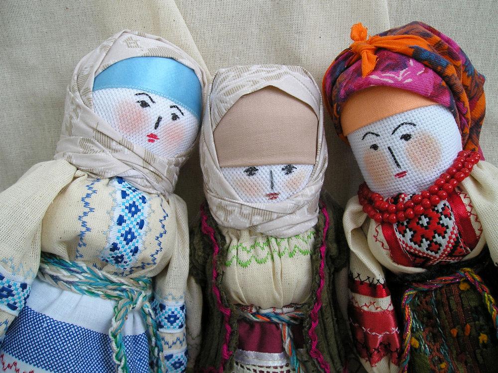 Картинка русские народные куклы