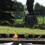 В Покровском районе перезахоронили останки солдат, погибших в годы войны.