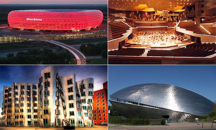 На протяжении всей своей истории Германия оставалась развитым богатым государством, в котором всегда внедрялись и использовались самые современные строительные технологии. Обзор 30 невероятных шедевров современной архитектуры Германии, наглядно демонстрирует, что и сейчас эта страна по-прежнему находится среди мировых лидеров.