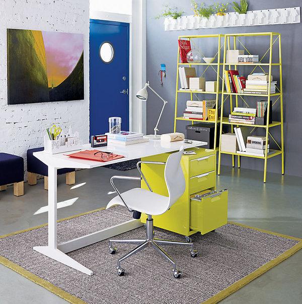 Творческий дизайн домашнего кабинета