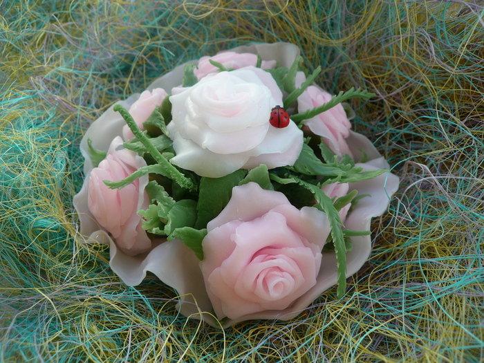 Мыло цветы картинки