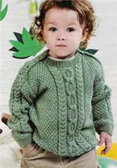 Детские модели для вязания спицами