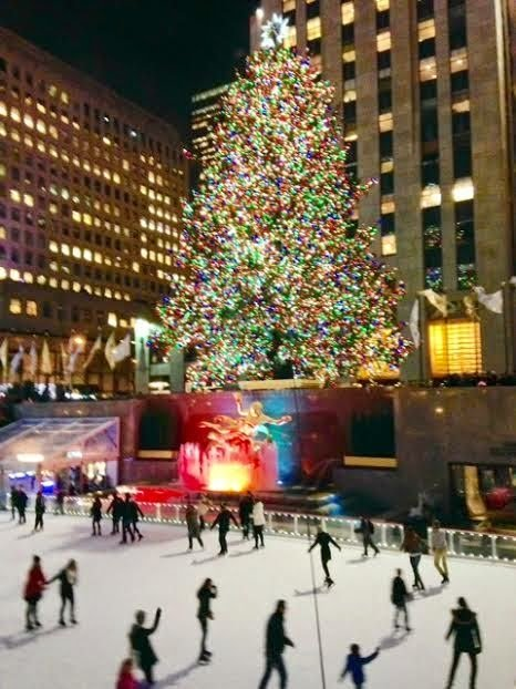 Улыбнись мой друг! : Новогодний Нью-Йорк