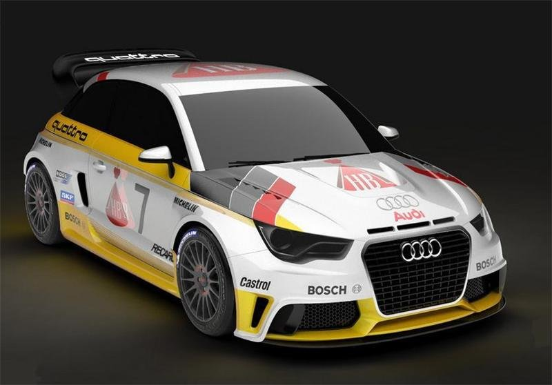Audi A1 Quattro Nardo Edition Group B by MTM