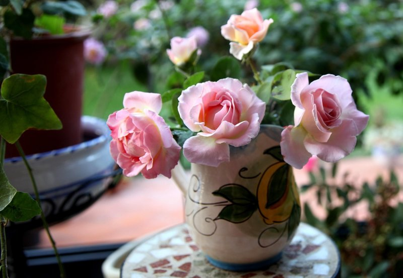 букеты цветов в вазе фото