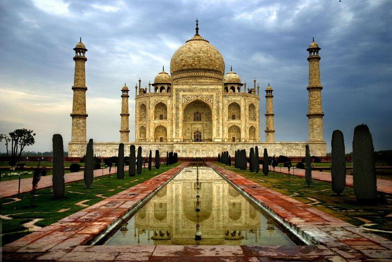 Достопримечательность в Агре - обои для рабочего стола, картинки, фото World India Attraction in Agra 066 105