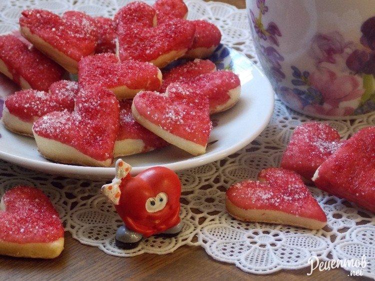 Валентинки рецепт фото