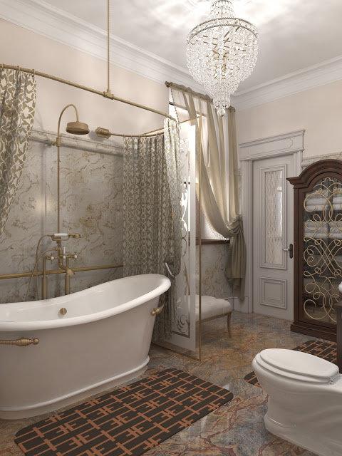 хрусталь в ванной