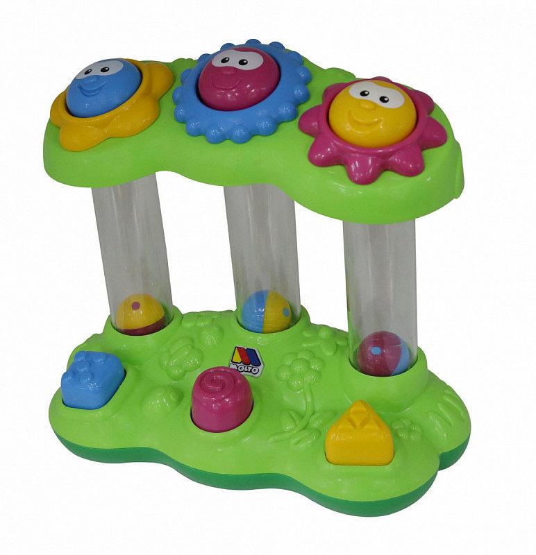развивающая игрушка забавный гриб в сеточке полесье