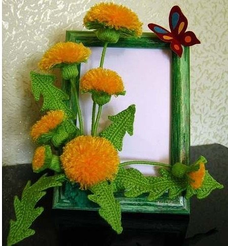 Поделки цветы из подручных средств 867