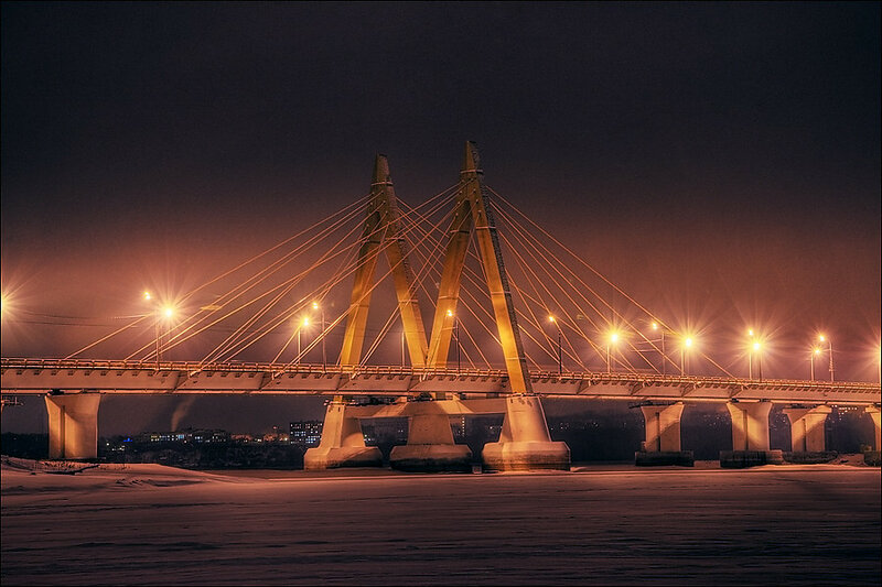 """мост """"Миллениум"""", Казань"""
