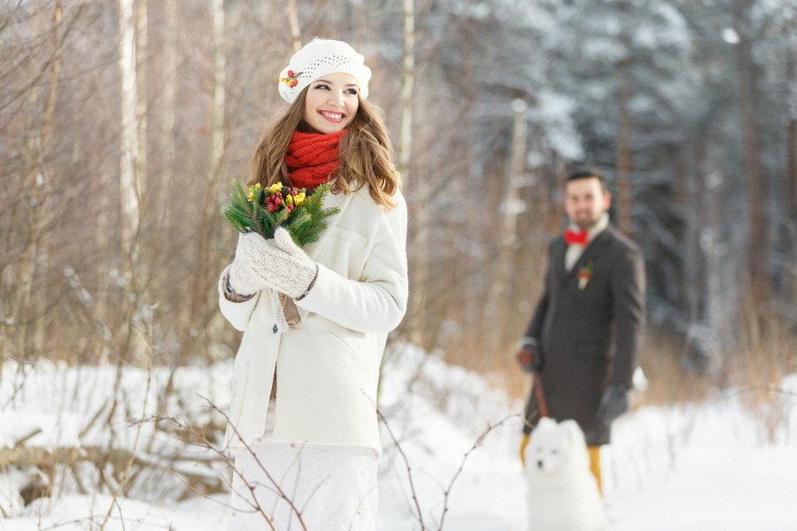 что нужно для фотосессии в лесу зимой