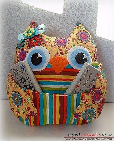 декоративная подушка сова своими руками мастер класс Регионы Калининградская