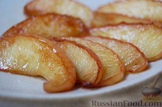 Рецепт Великолепные жареные яблоки